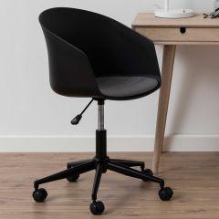 Chaise de bureau Monsy - noir