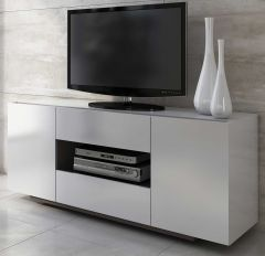 Bahut / Meuble tv Ivo 160cm - blanc