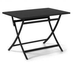 Table de jardin pliable Grasse 110x70 - anthracite