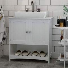 Meuble sous lavabo Eléonore - blanc