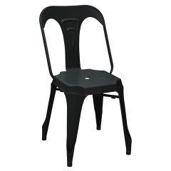 Lot de 2 chaises Industry - noir