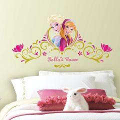 Sticker mural XL Disney La Reine des Neiges Spring Time