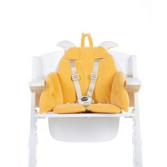 Coussin de chaise Girafe - jaune ocre