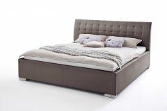 Lit Isa Confort 100x200cm - brun