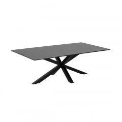 Table basse Hennie 130x70 - noir