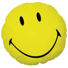 Coussin Smiley Happy Origin 3D Jaune