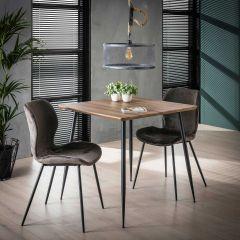 Table à manger Tatiana 80x80 - chêne