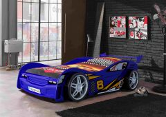 Lit voiture Night Racer - bleu