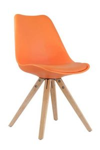 Ensemble de 2 chaises Lady - orange