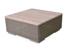 Table basse extérieur Kingston Pure 85x85cm