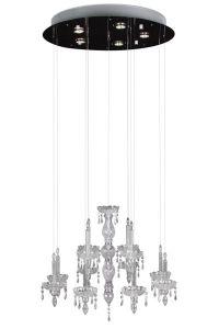 Suspension Ghostly Candle Ø70cm - 5x50w GU10