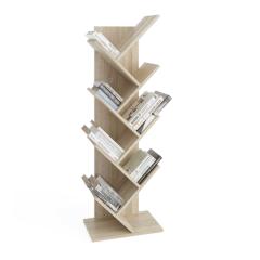 Bibliothèque Basil verticale - chêne