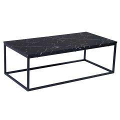 Table basse Antonio 60x120 industriel - béton