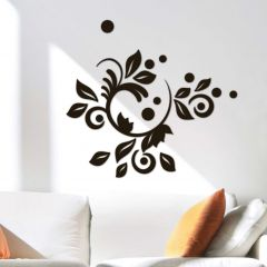 Stickers muraux 3D Romantic - mousse