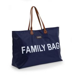 Sac à langer Family Bag - bleu/blanc
