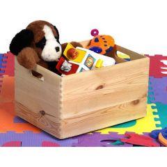 Caisson à jouets Maxine en bois 40x30x24