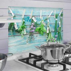 Sticker mural Herbs revêtement mural pour cuisine