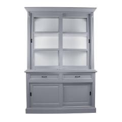 Buffet Provence - 150 cm - gris / blanc