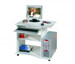 Bureau pour ordinateur Adda - blanc
