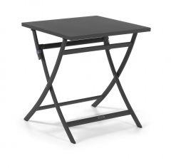 Table de jardin pliable Grasse 70x70 - anthracite