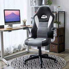 Chaise de bureau Dominion - noir/gris