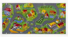 Tapis Little Village – 95 x 200cm