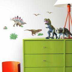 Stickers muraux Dinosaur World