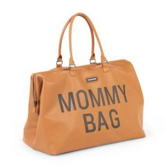 Sac à langer Mommy Bag similicuir - brun
