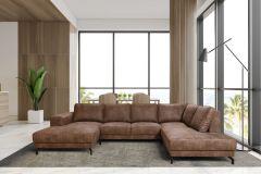 Canapé d'angle Wout - gauche