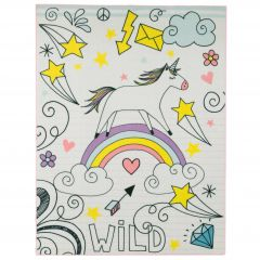 Tapis enfant Unicorn Wild