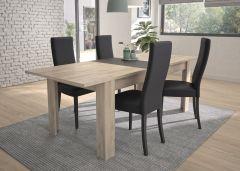 Table à manger extensible Jacob - chêne Kronberg clair