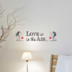 Sticker mural Love is in the air