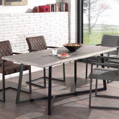 Table Britta 180cm - chêne gris