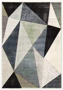 Tapis Angles 300x200 - gris/vert clair