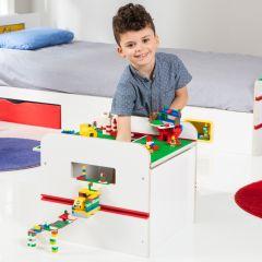 Coffre à jouets Room 2 Build - blanc