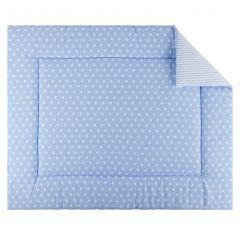 Tapis de parc Little Star 80x100 - bleu clair