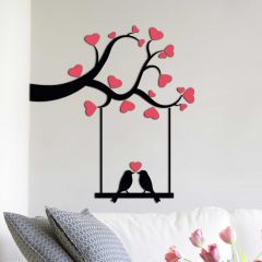 Sticker mural 3D Love - mousse