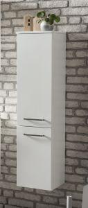 Colonne Stivan 30cm 2 portes - blanc