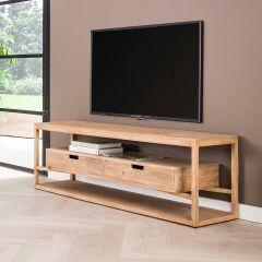Meuble tv Layla 140cm - bois de manguier