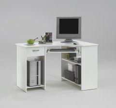 Bureau pour ordinateur Felix - blanc