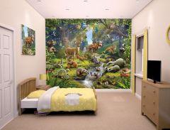 Papier peint Animaux de la Forêt