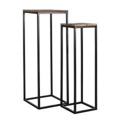 Pillar Raffles set of 2