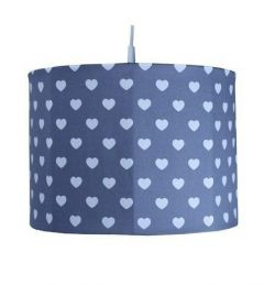 Suspension enfant Coeur gris