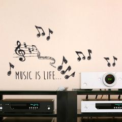 Sticker mural Music