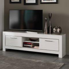 Meuble TV Modena 160 cm - blanc
