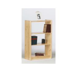Bibliothèque Olan 65cm avec 2 étagères - nature