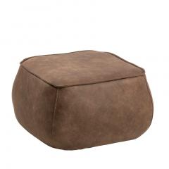 Pouf Mirza 60x60 - brun