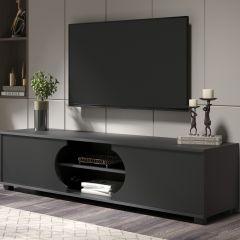 Meuble tv Dost 160cm à 2 portes - gris
