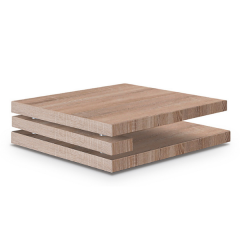 Table basse Coventry 100x100 - sonoma clair