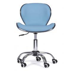 Chaise de bureau Finn - cyan